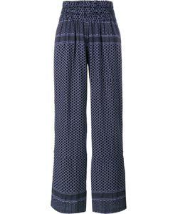 Cecilie Copenhagen   Keffiyeh Printed Cotton Trousers 1 Cotton
