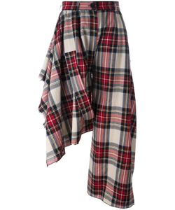 Area Di Barbara Bologna | Asymmetrical Tartan Trousers Small