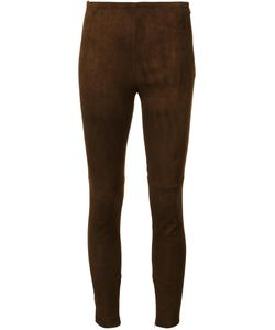 Ralph Lauren Collection | Classic Leggings 2 Cotton/Spandex/Elastane/Lamb Skin