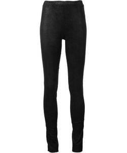 Beau Souci | Leather Leggings 36 Lamb Skin/Spandex/Elastane