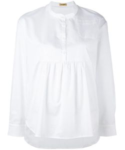 Peter Jensen | Pleated Blouse Xs Cotton