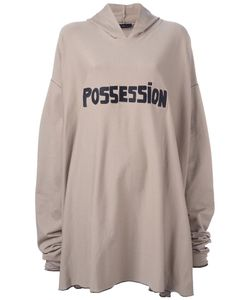 Area Di Barbara Bologna | Oversized Possession Hoodie Cotton/Spandex/Elastane