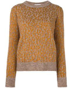 Christian Wijnants | Leopard Pattern Jumper Small Polyamide/Spandex/Elastane/Viscose/Virgin Wool