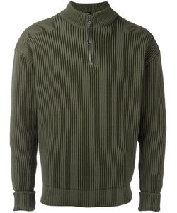 Jil Sander | Zipped Ribbed Sweater 50 Polyamide