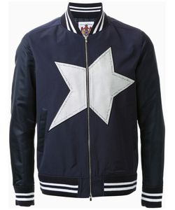 Education From Youngmachines | Star Applique Bomber Jacket