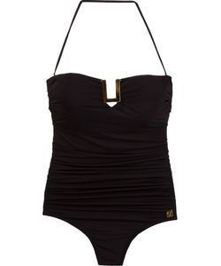 Brigitte | Bandeau Draped Swimsuit