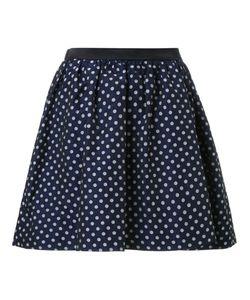Guild Prime | Polka Dot Pleated A-Line Short Skirt