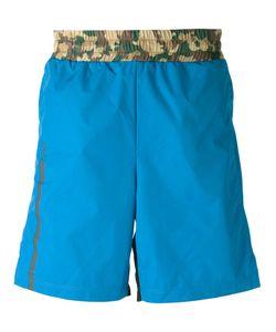 Haus | Camouflage Waistband Swim Shorts