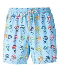 Capricode   Medusa Print Swim Shorts