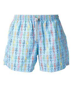 Capricode   Seahorse Print Swim Shorts