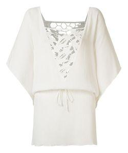 Brigitte | Lace Panel Beach Dress P