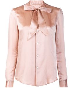 Julien David | Bow Detail Shirt Xs Silk/Cotton