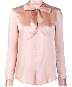Julien David | Bow Detail Shirt Xs Silk/Cotton