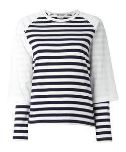 Comme Des Garçons Comme Des Garçons | Striped Sweatshirt Small