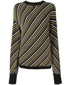 Aalto   Diagonal Stripe Jumper 36 Wool