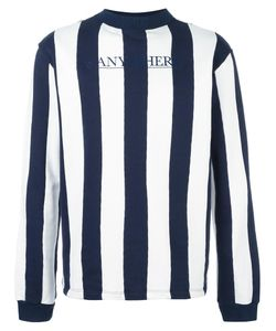 Roundel London | Striped Sweatshirt Large Cotton