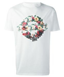 Roundel London | Flower Roundel T-Shirt Medium Cotton