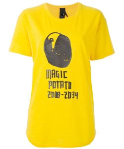Bernhard Willhelm | Magic Potato Print T-Shirt Large Cotton