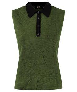 Gig | Sleeveless Polo Shirt Gg Elastodiene/Polyamide/Viscose