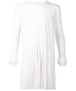 Julius   Long Ribbed Long Sleeve T-Shirt 3 Silk/Rayon