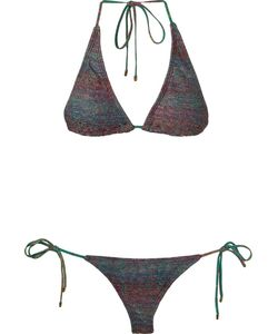 Osklen Praia | Triangle Knit Bikini Set