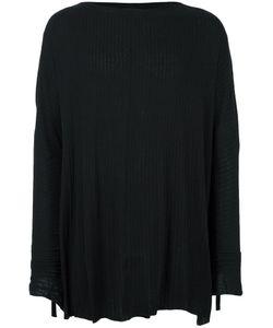 Cedric Jacquemyn | Boat Neck Ribbed Sweatshirt 48 Silk