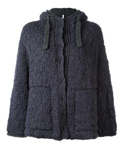 Boboutic | Double Knit Hooded Cardigan Medium Polyamide/Wool/Yak/Spandex/Elastane