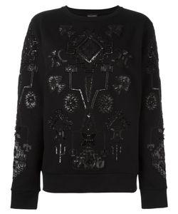 Marcelo Burlon County Of Milan   Triangular Sweatshirt Xs