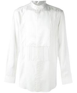 Givenchy | Fringed Panel Shirt 40 Viscose/Silk