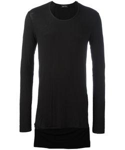Andrea Ya'aqov | High Low T-Shirt Large Viscose/Cashmere/Spandex/Elastane