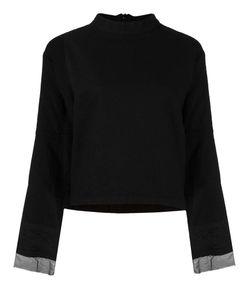 Andrea Ya'aqov | Long Embroidered Sleeve Blouse Small Cotton/Polyamide/Virgin