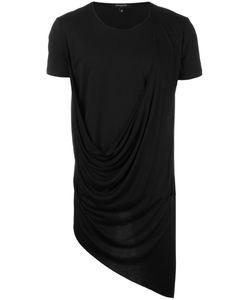 Unconditional | Asymmetric Drape T-Shirt Xs Rayon/Cotton