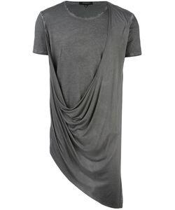 Unconditional | Asymmetric Drape T-Shirt Xl Rayon/Cotton