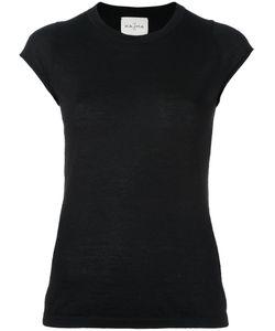 Le Kasha | Haiti Knit T-Shirt Small Cashmere