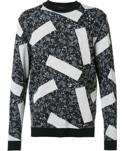 Julien David | Intarsia Knit Jumper Medium Wool