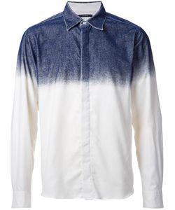 Taakk | Concealed Fastening Dégradé Shirt 3 Cotton