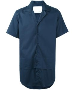Matthew Miller | Layer Short Sleeve Shirt Medium Cotton/Spandex/Elastane