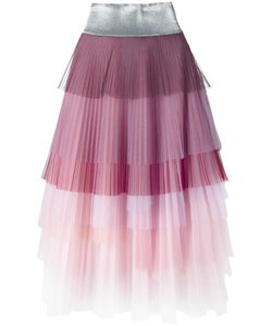 Daizy Shely | Layered Pleated Skirt 42 Polyamide
