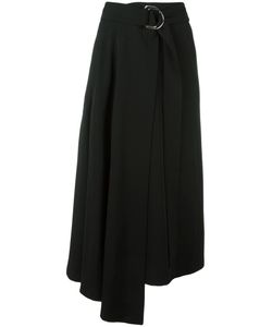 Veronique Leroy | Asymmetric Skirt 38 Silk/Wool/Polyamide/Spandex/Elastane