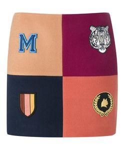 Stella McCartney | Moana Melton Mini Skirt 40 Wool/Polyamide/Viscose/Cotton