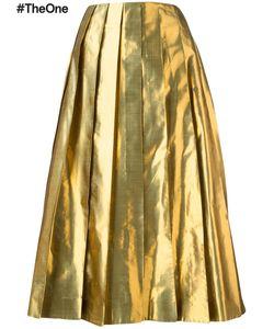 Arthur Arbesser | Pleated Skirt 42 Polyester/Silk