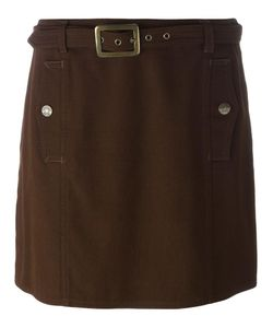 Moschino Vintage | Belted Mini Skirt 44