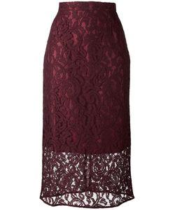 Gaelle Bonheur | Lace Midi Skirt 1 Cotton/Viscose/Polyester