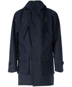 Taakk | Perforated Stripe Jacket
