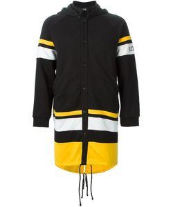 Ejxiii   Block Stripe Jersey Coat