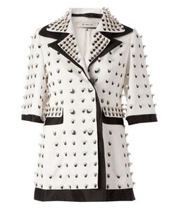 Anrealage | Pearls Embellished Coat