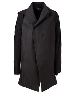 Lost And Found   Asymmetric Hooded Coat