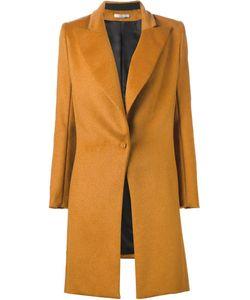 Bouchra Jarrar | Peaked Laped Buttoned Coat