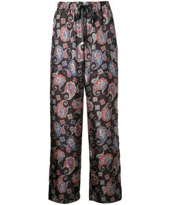 Astraet | Paisley Print Trousers 00