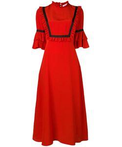 Vivetta   Ruffled Detailing Midi Dress